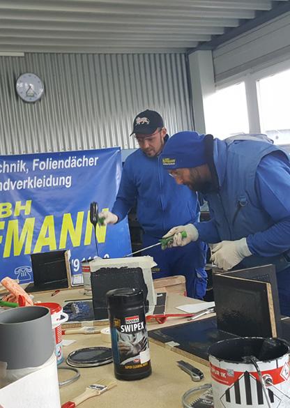 Schulung Weiterbildung Flachdachabdichtungen Hoffmann GmbH