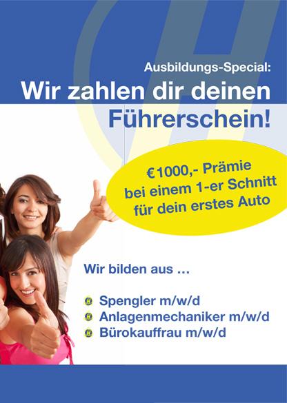 Azubi Hoffmann inkl. PKW Führerscheinausbildung