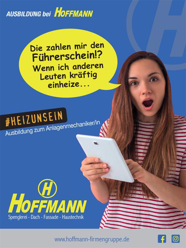 Ausbildung bei der Hoffmann Firmengruppe: Ausbildung zum Anlagenmechaniker/in