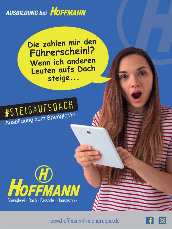 Ausbildung bei der Hoffmann Firmengruppe: Ausbildung zum Spengler/in oder Anlagenmechaniker/in