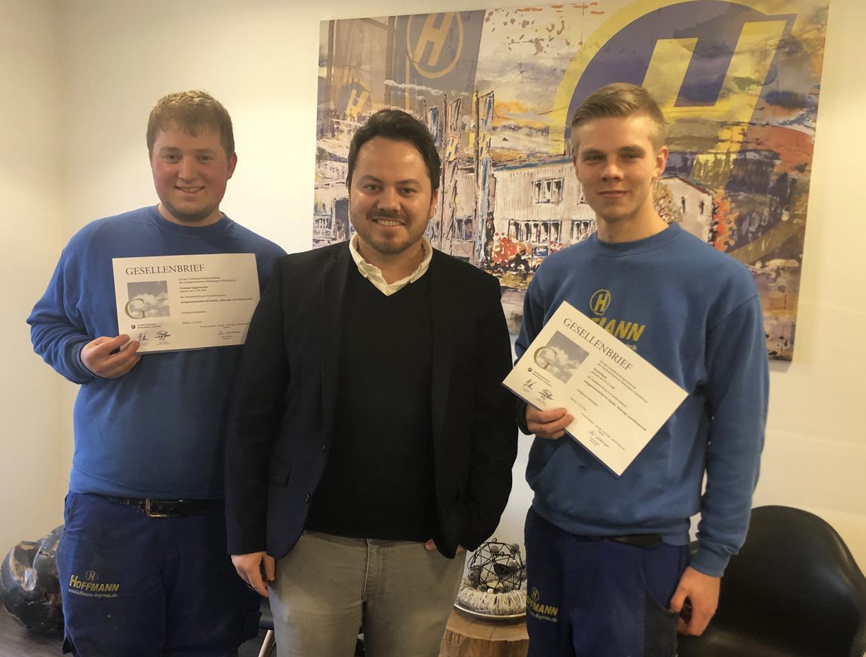 Ausbildung bei der Hoffmann Firmengruppe: Ausbildung zum Anlagenmechaniker