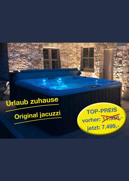 Hoffmann Firmengruppe jacuzzi - Urlaub und Wellness für zuhause Top-Preis
