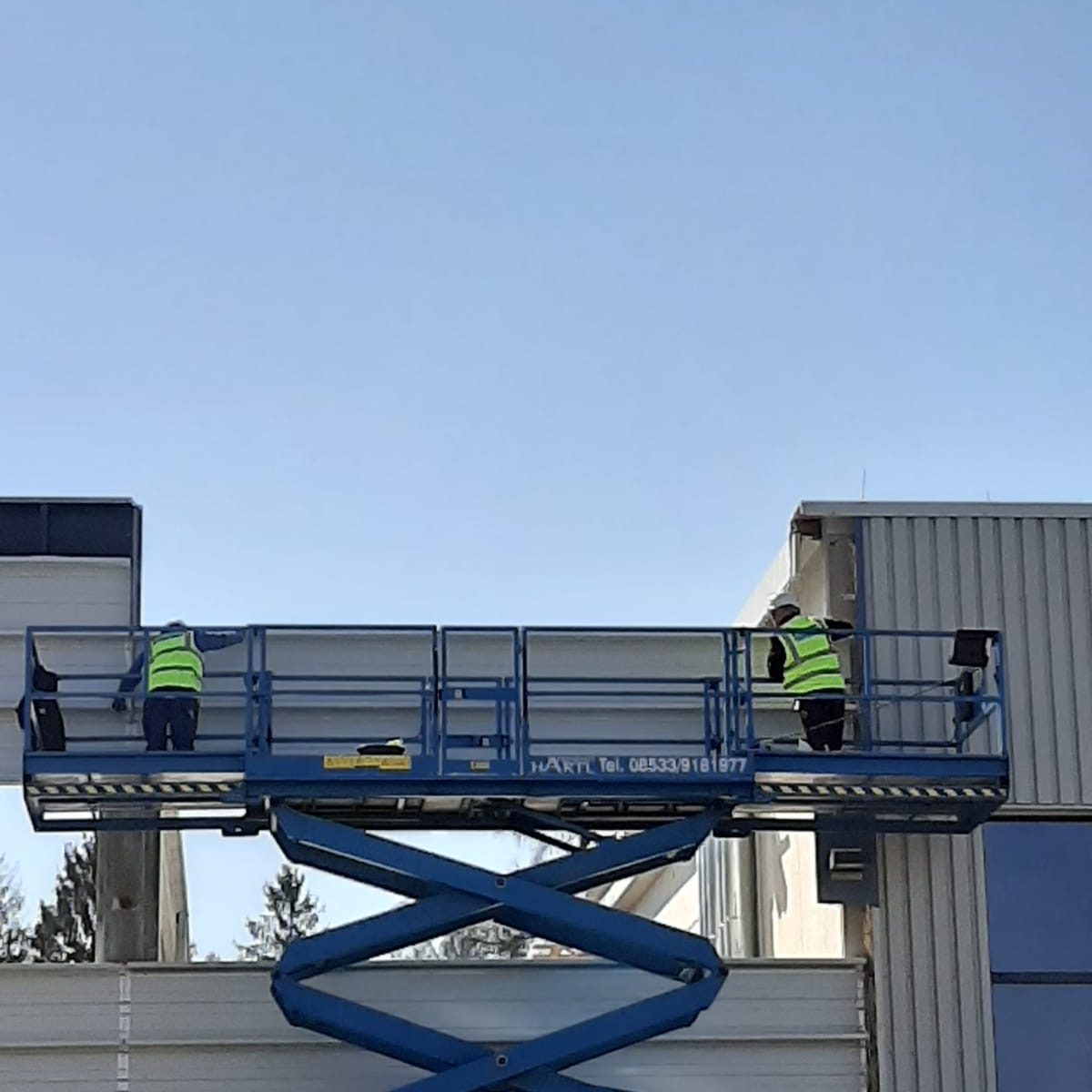 Hoffmann Firmengruppe Baustelle