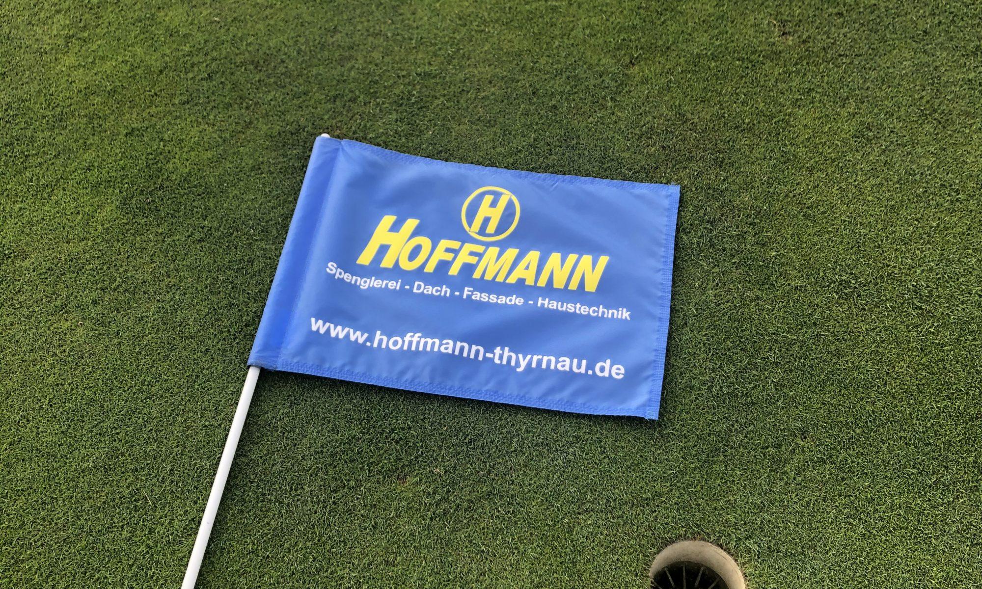 Hoffmann Firmengruppe Golffahnen - Greens des Donau Golf Clubs Passau-Raßbach