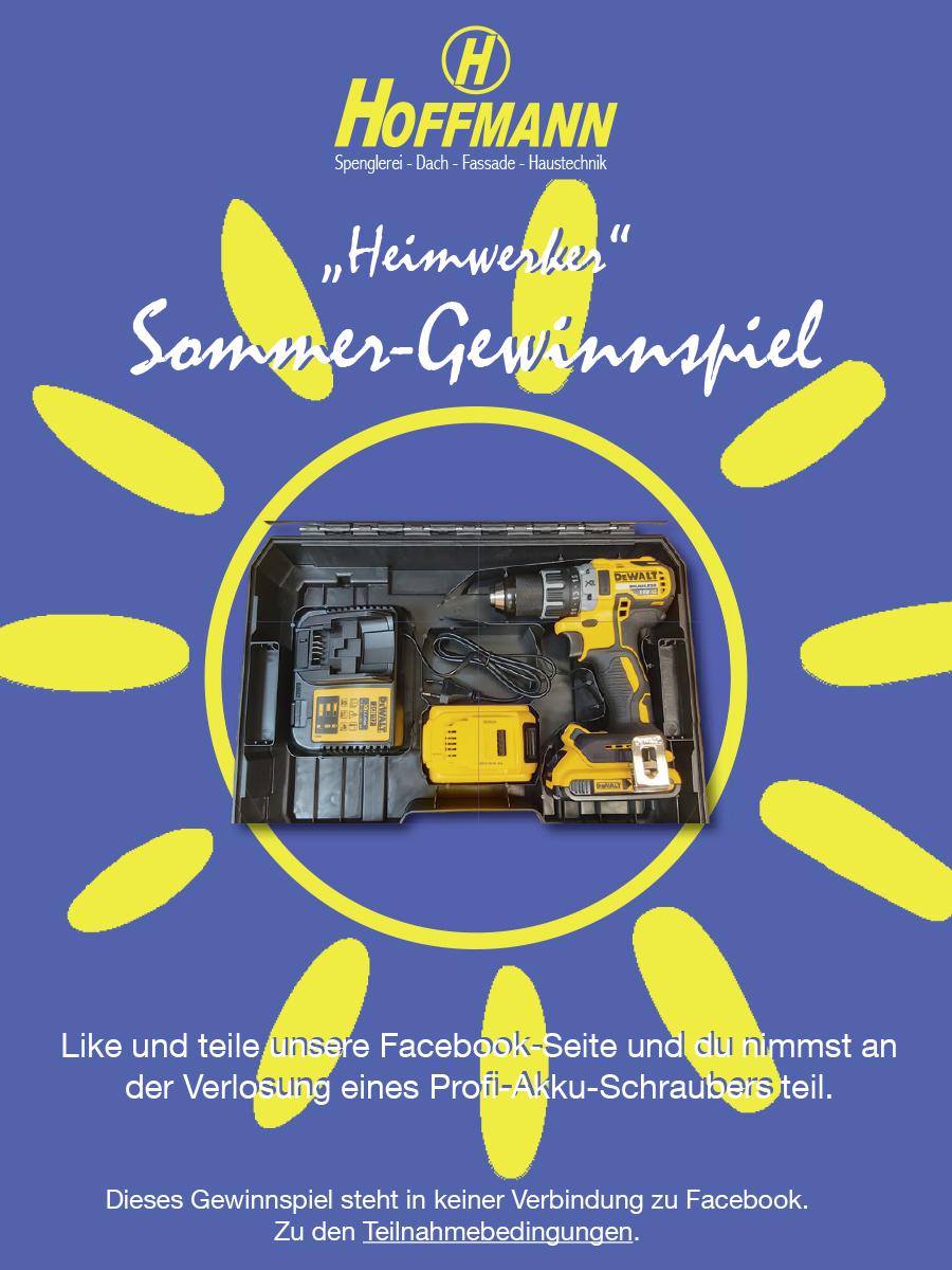 Hoffmann Hoffmann Sommer Gewinnspiel für alle Heimwerker