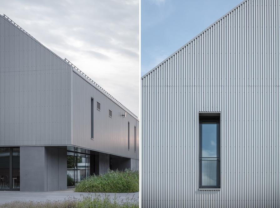 Flussmeisterstelle Deggendorf, ca. 6000 qm Dach- und Fassadeneindeckung Hoffmann Firmengruppe
