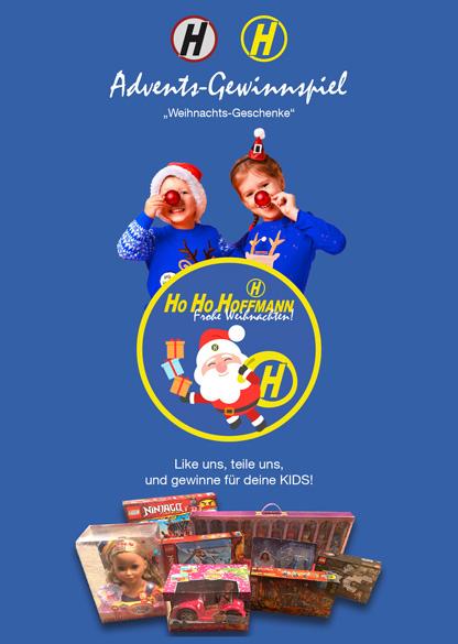 Hoffmann Advents-Gewinnspiel für alle Mamas und Papas, Omas und Opas