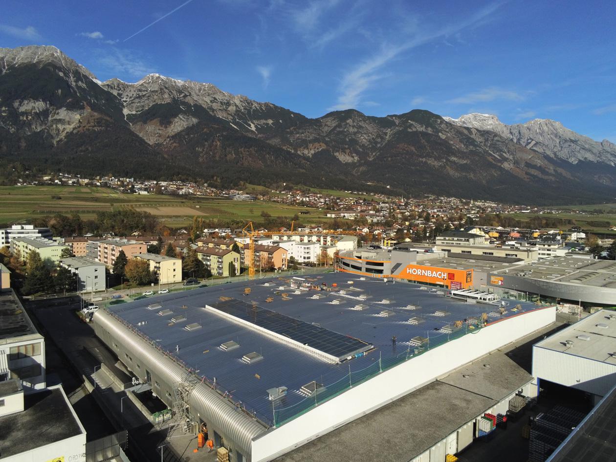 Großbaustelle in Innsbruck Hoffmann Firmengruppe