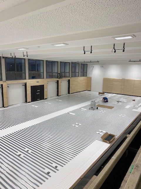 Grundschule Thyrnau bekommt neue Turnhallenheizung