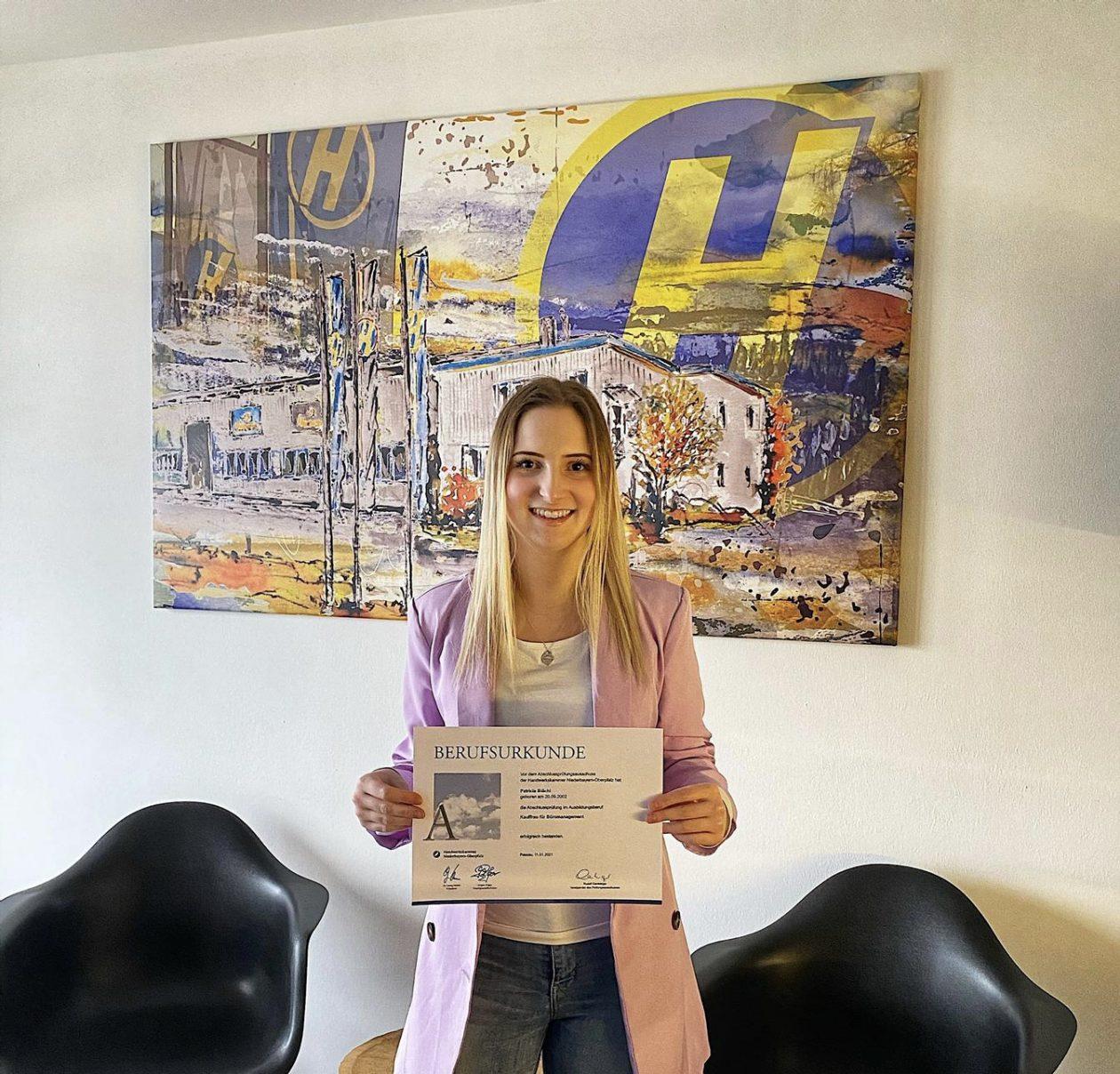 Hoffmann Ausbildung zur Kauffrau für Büromanagement