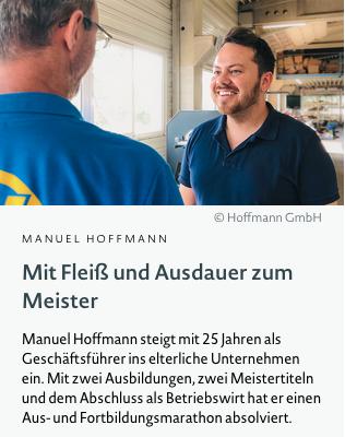 W eiterbildungsmöglichkeiten Bayern Hoffmann