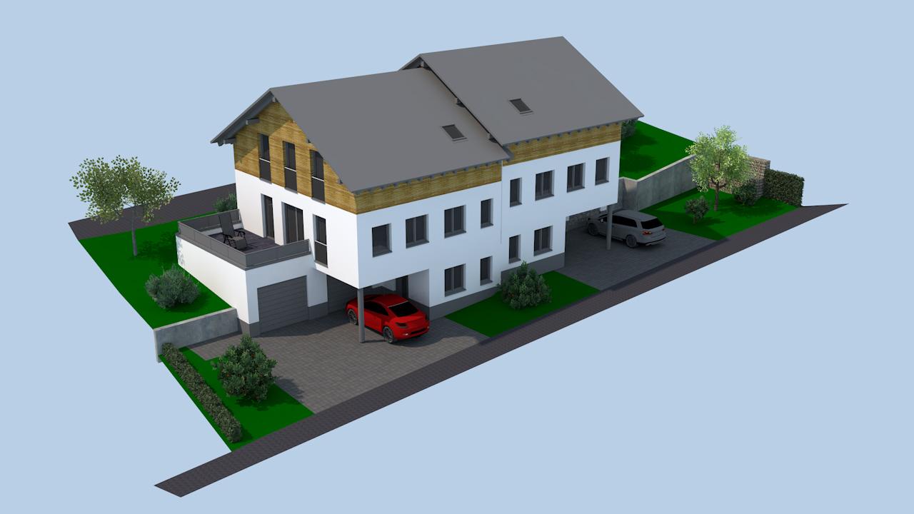 Hoffmann Immobilien Thyrnau Doppelhaus Doppelhaushälfte